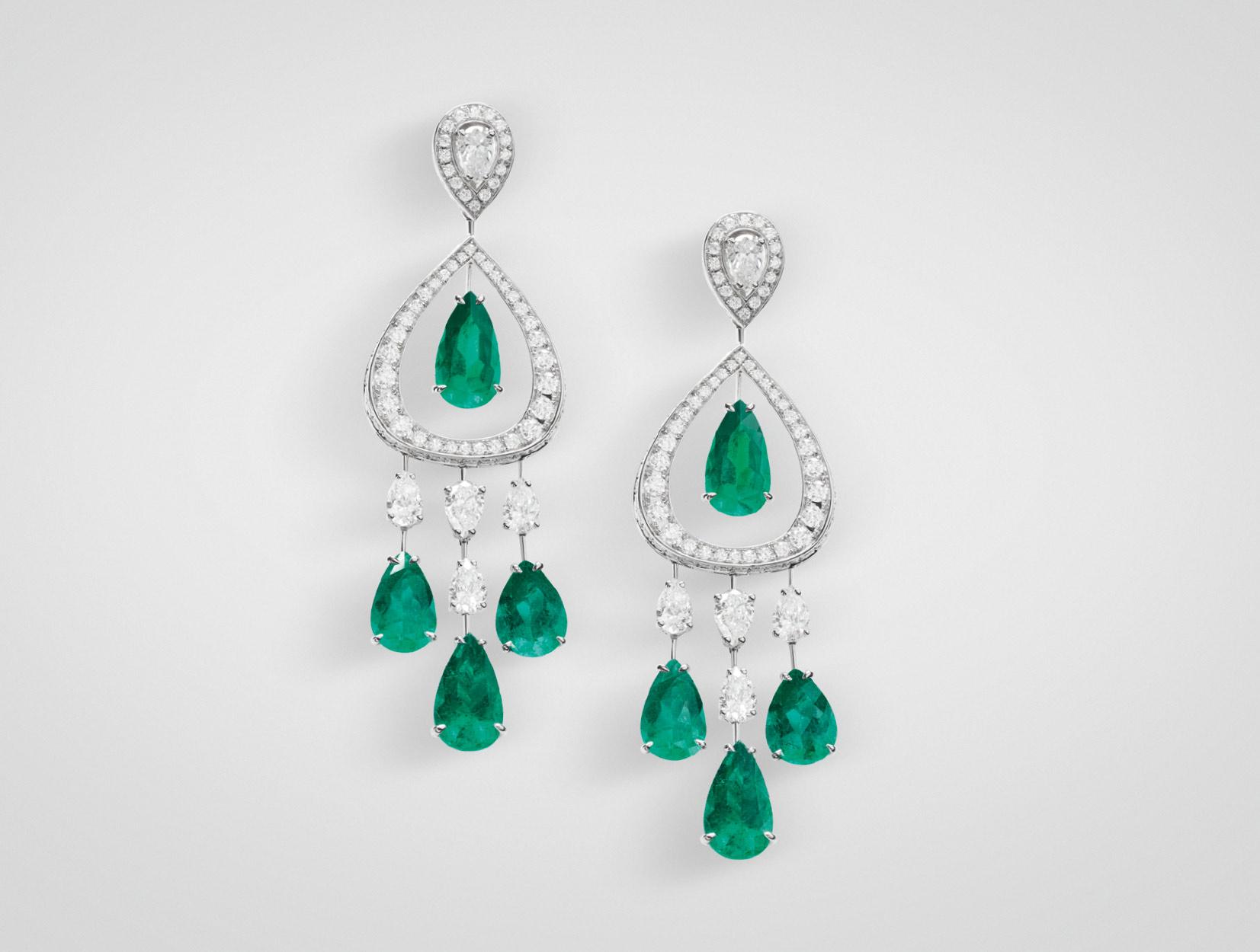 Emeralds Earrings 08 | Maria Gaspari