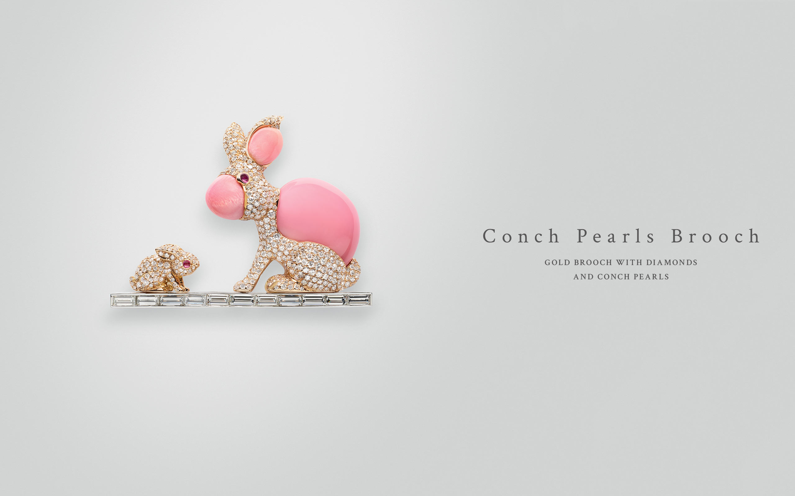 Conch Pearls Brooch 11 | Maria Gaspari