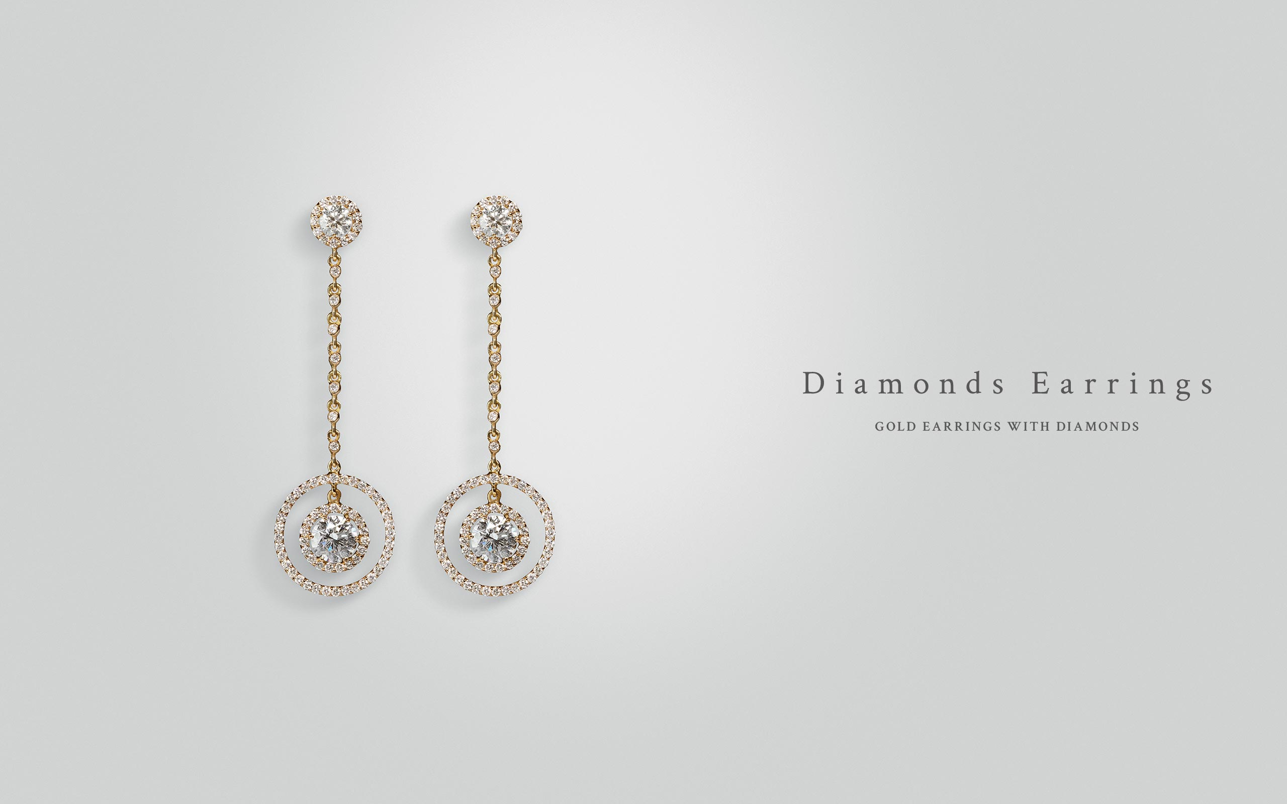 Diamonds Earrings 15 | Maria Gaspari