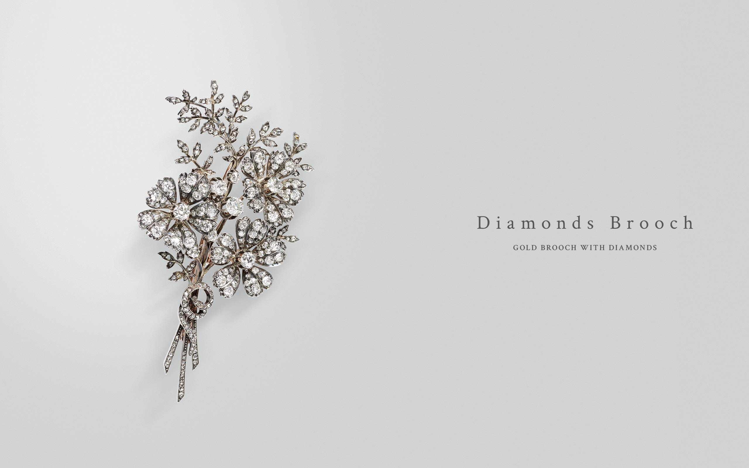 Diamonds Brooch 03 | Maria Gaspari