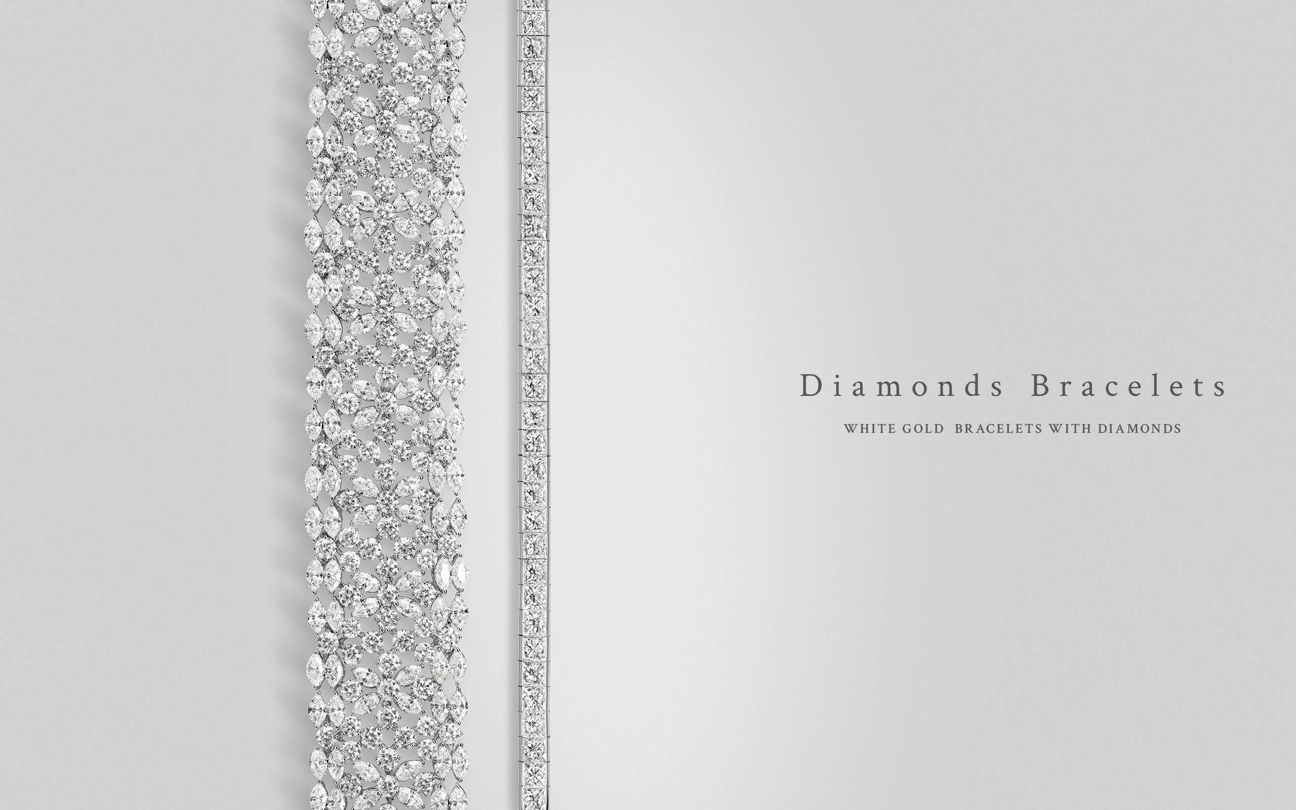 Diamonds Bracelets 04 | Maria Gaspari