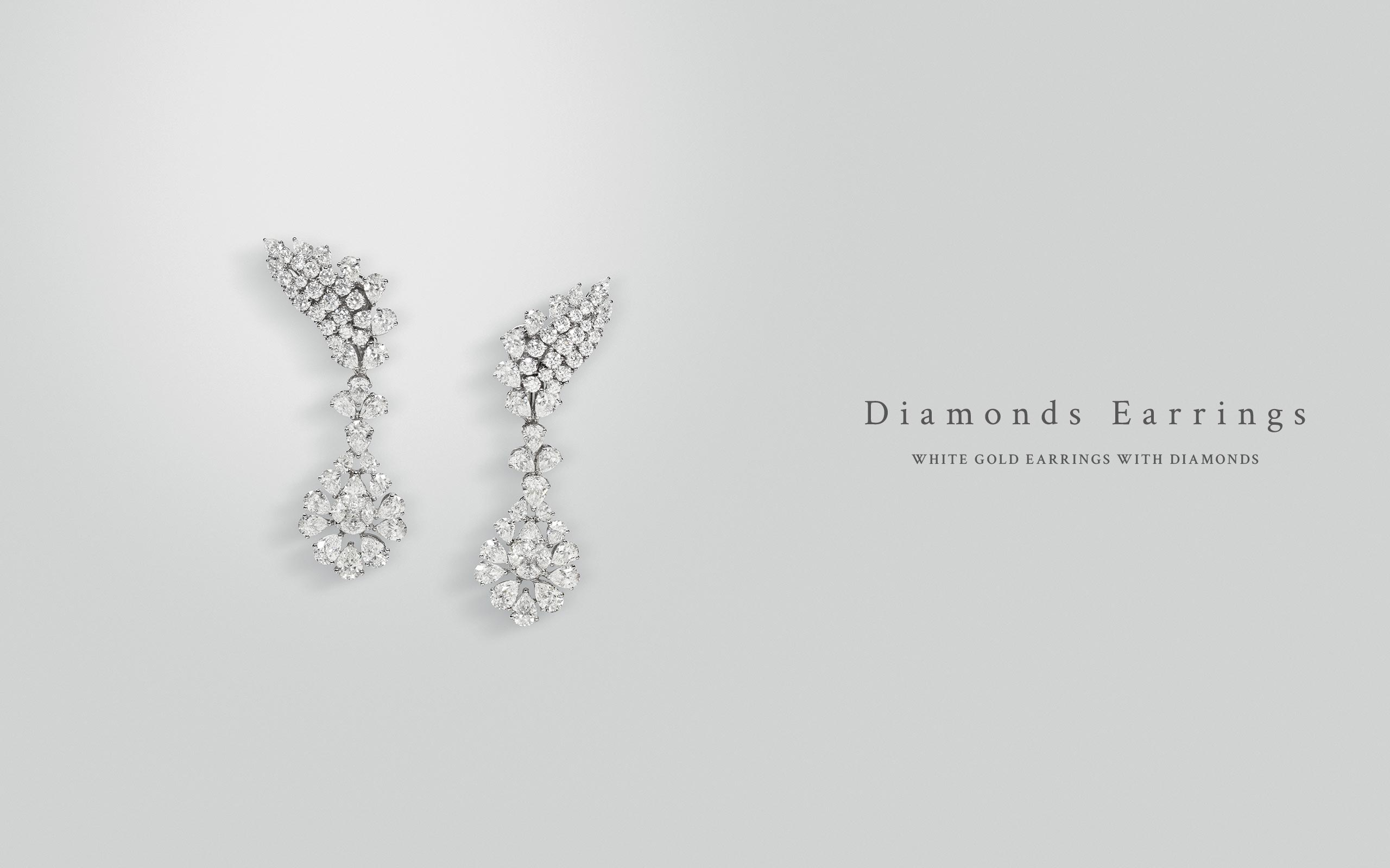 Diamonds Earrings 14 | Maria Gaspari