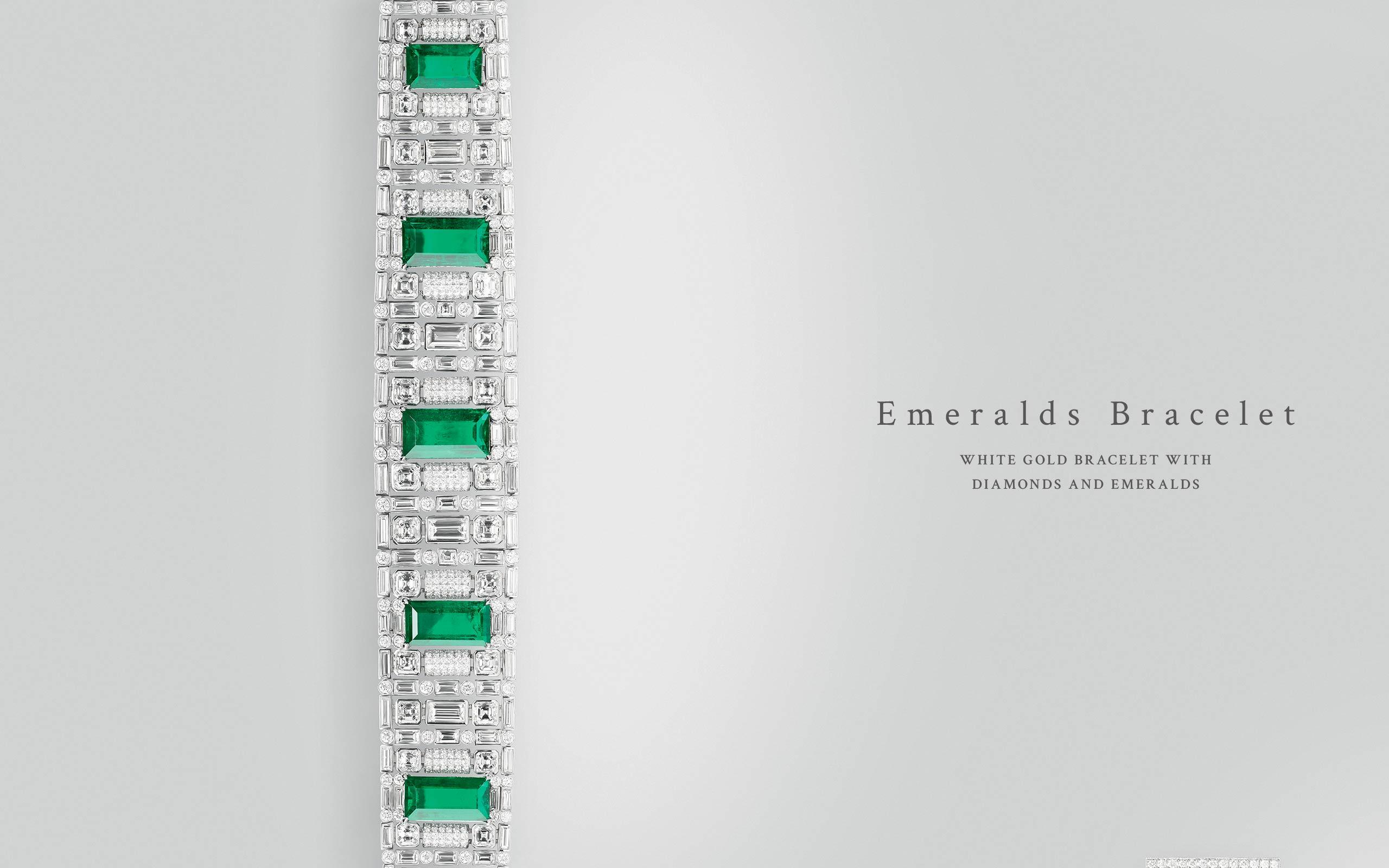Emeralds Bracelet 02 | Maria Gaspari