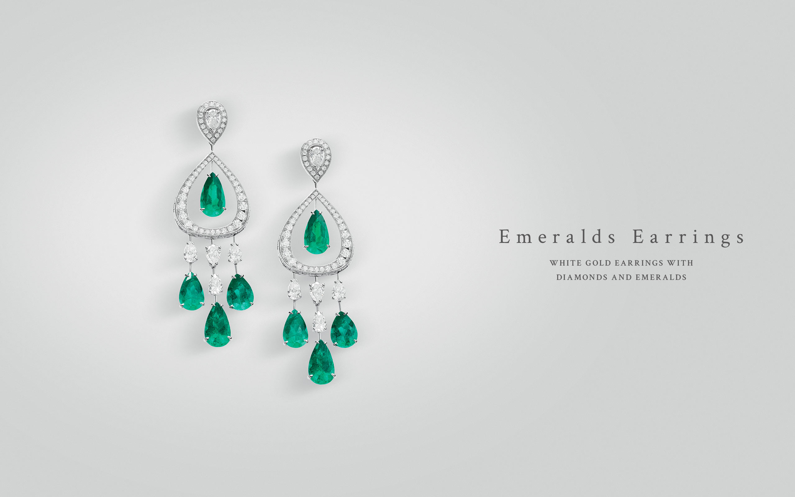 Emeralds Earrings 05 | Maria Gaspari