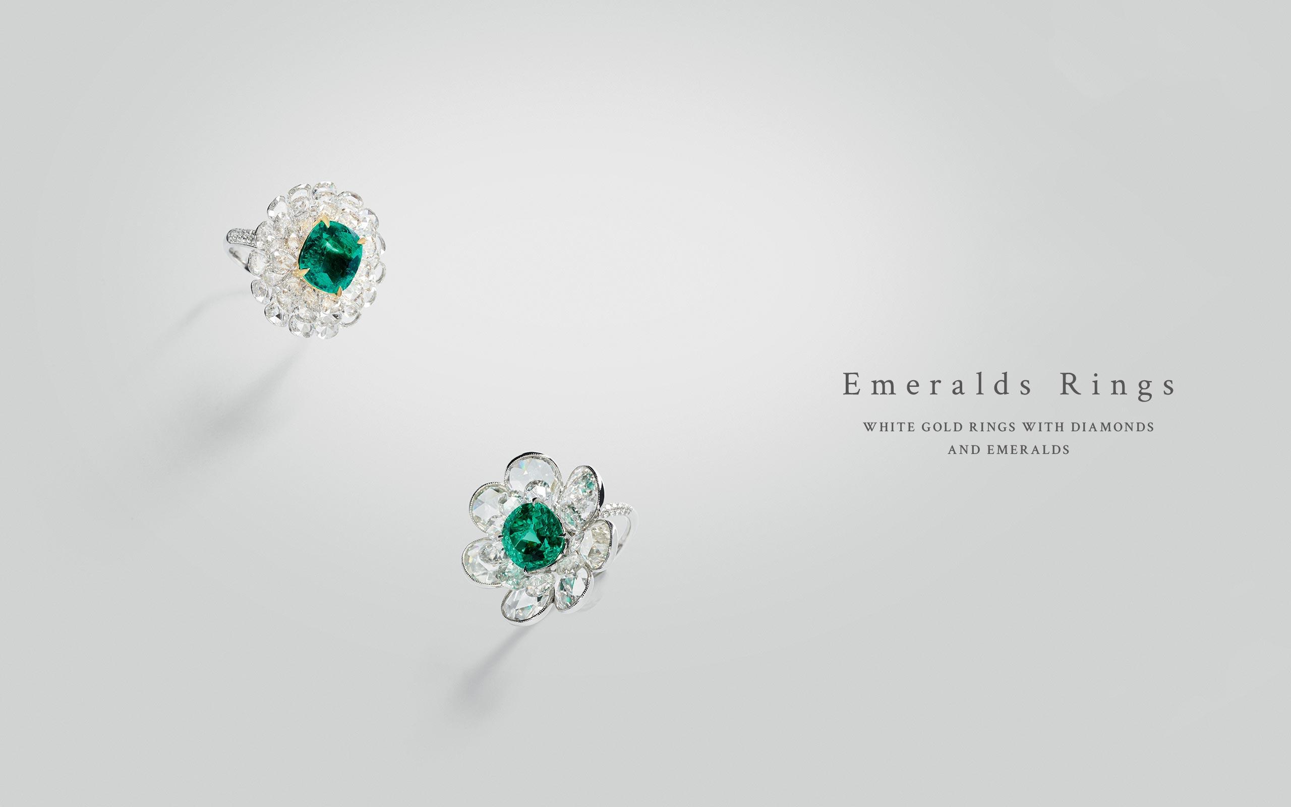 Emerald Rings 02 | Maria Gaspari
