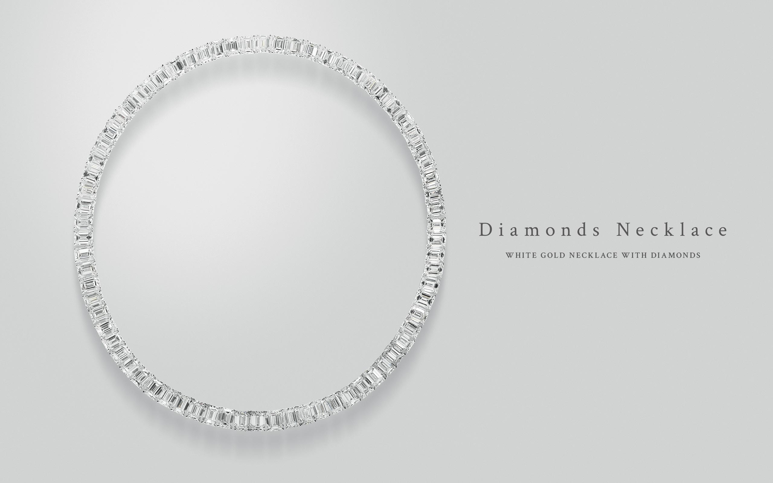 Diamonds Necklace 11 | Maria Gaspari