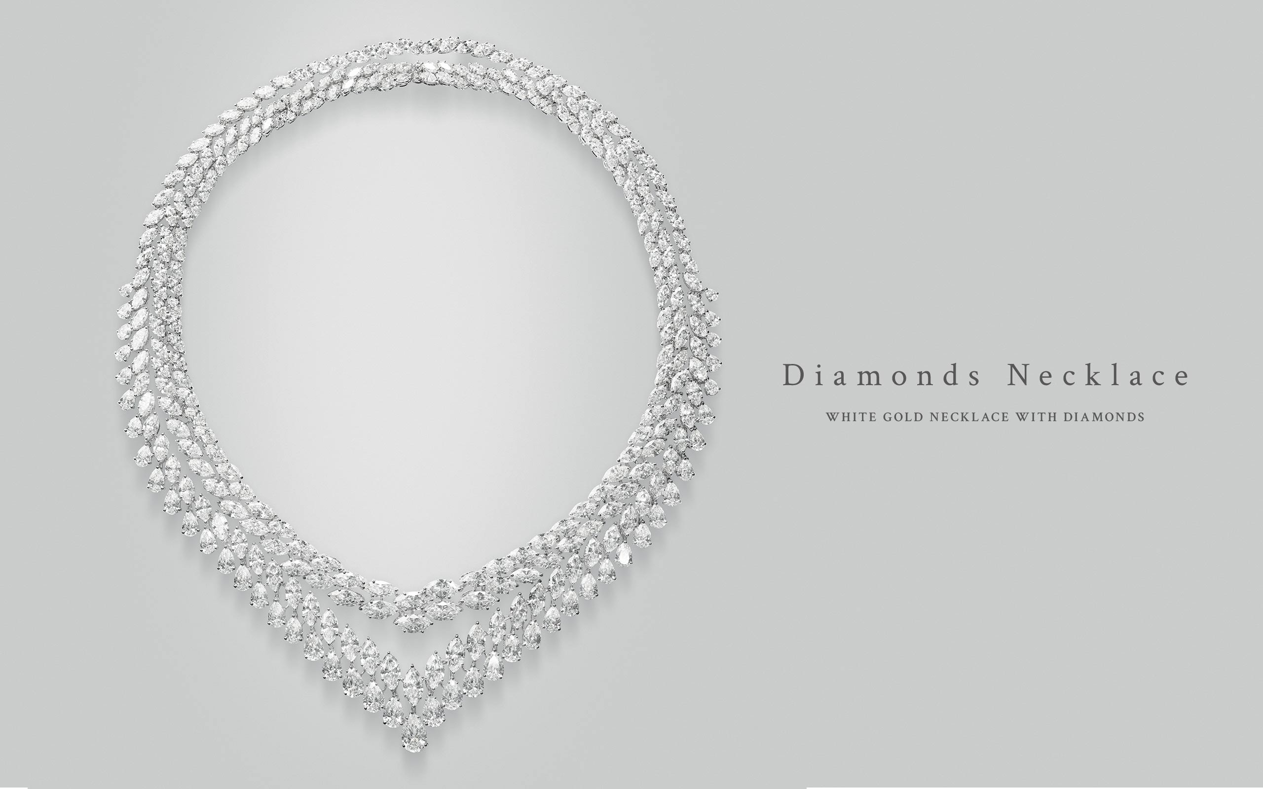 Diamonds Necklace 10 | Maria Gaspari