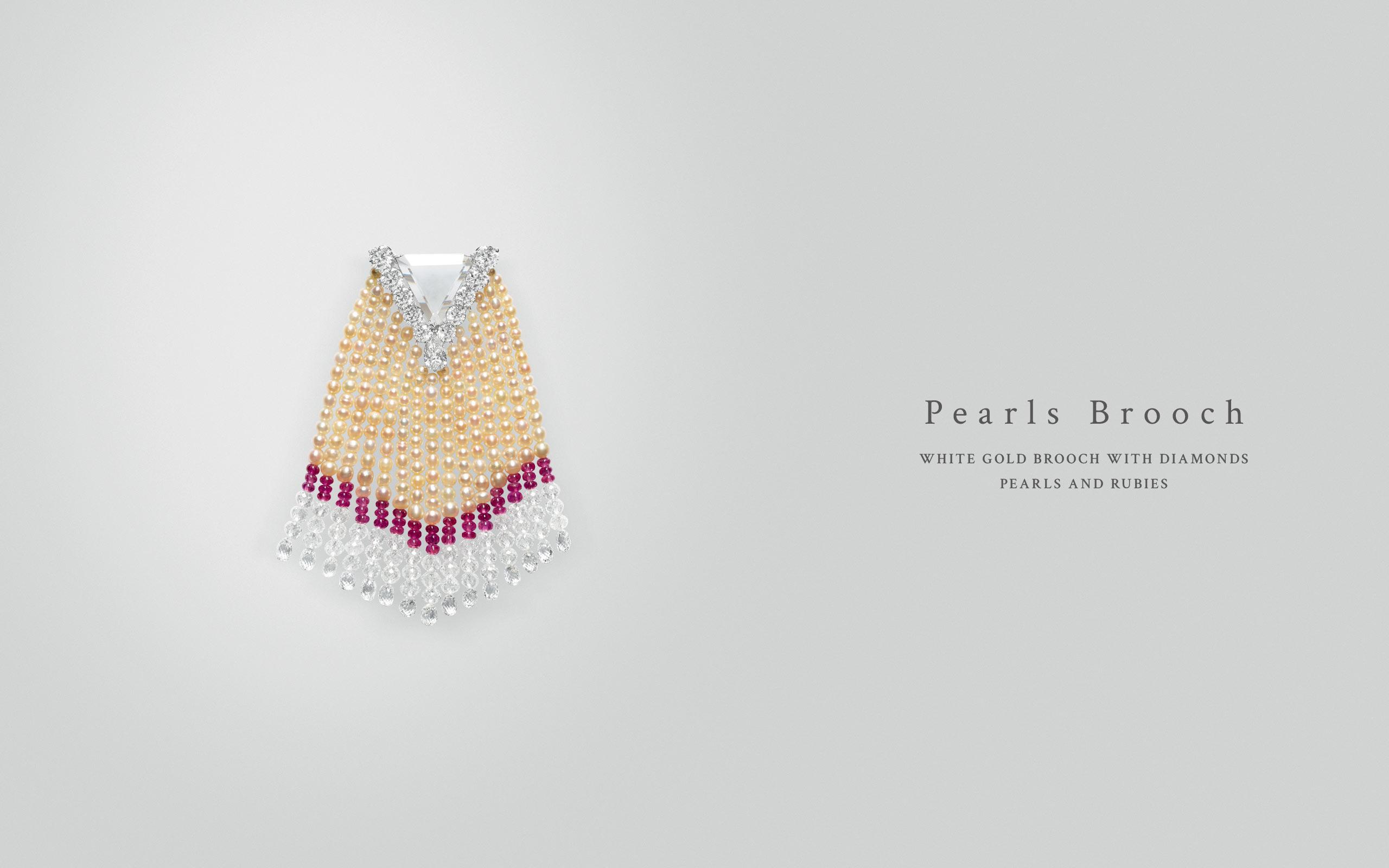 Pearls Brooch 08 | Maria Gaspari