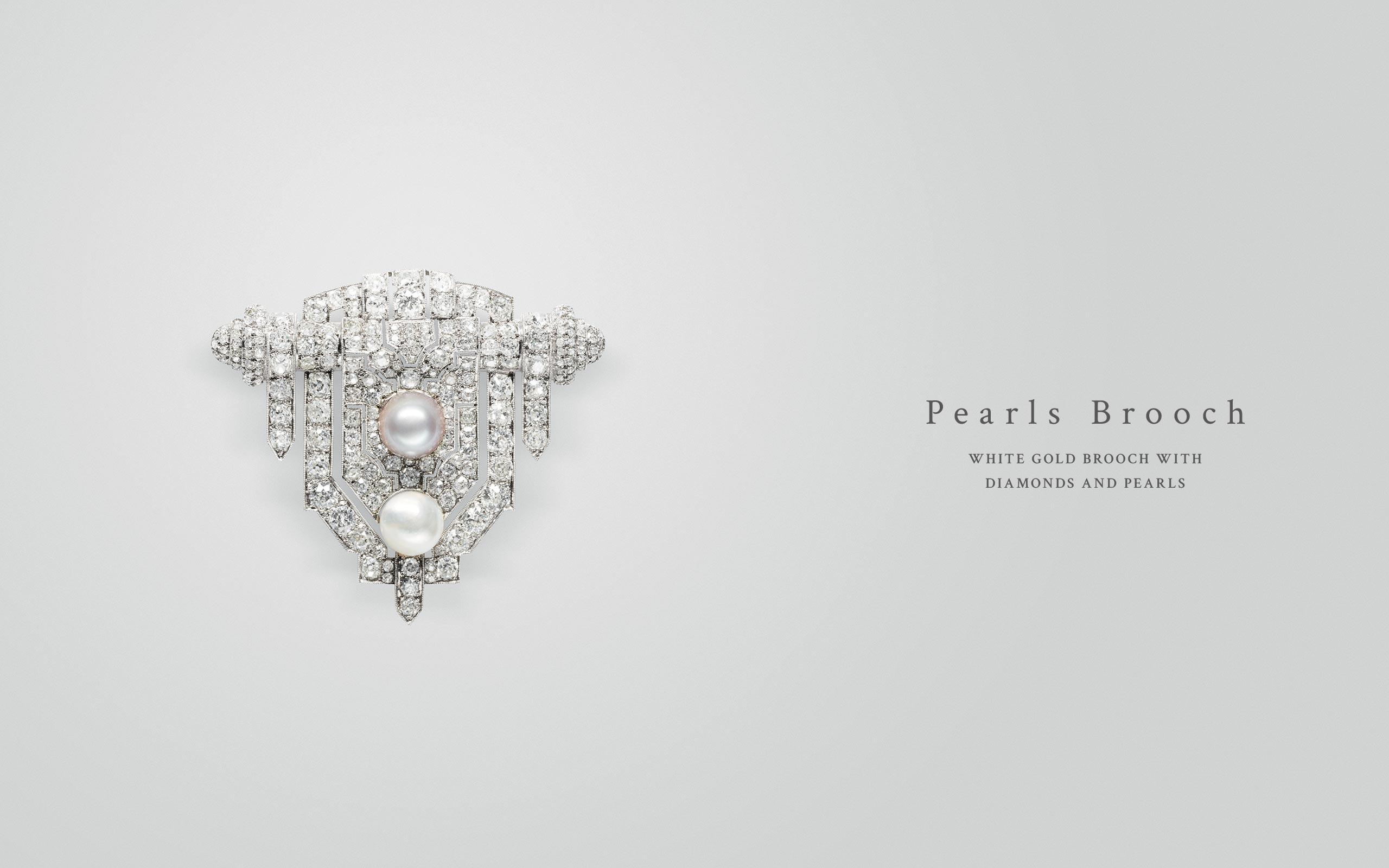 Pearls Brooch 07 | Maria Gaspari