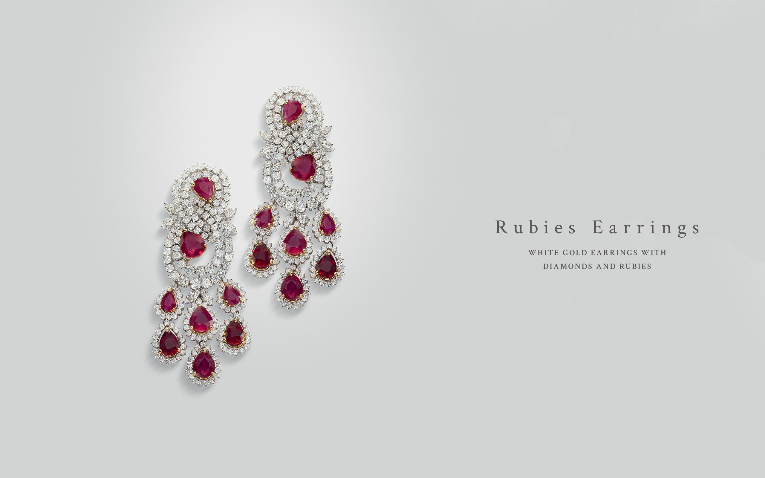 Rubies Earrings 03 | Maria Gaspari