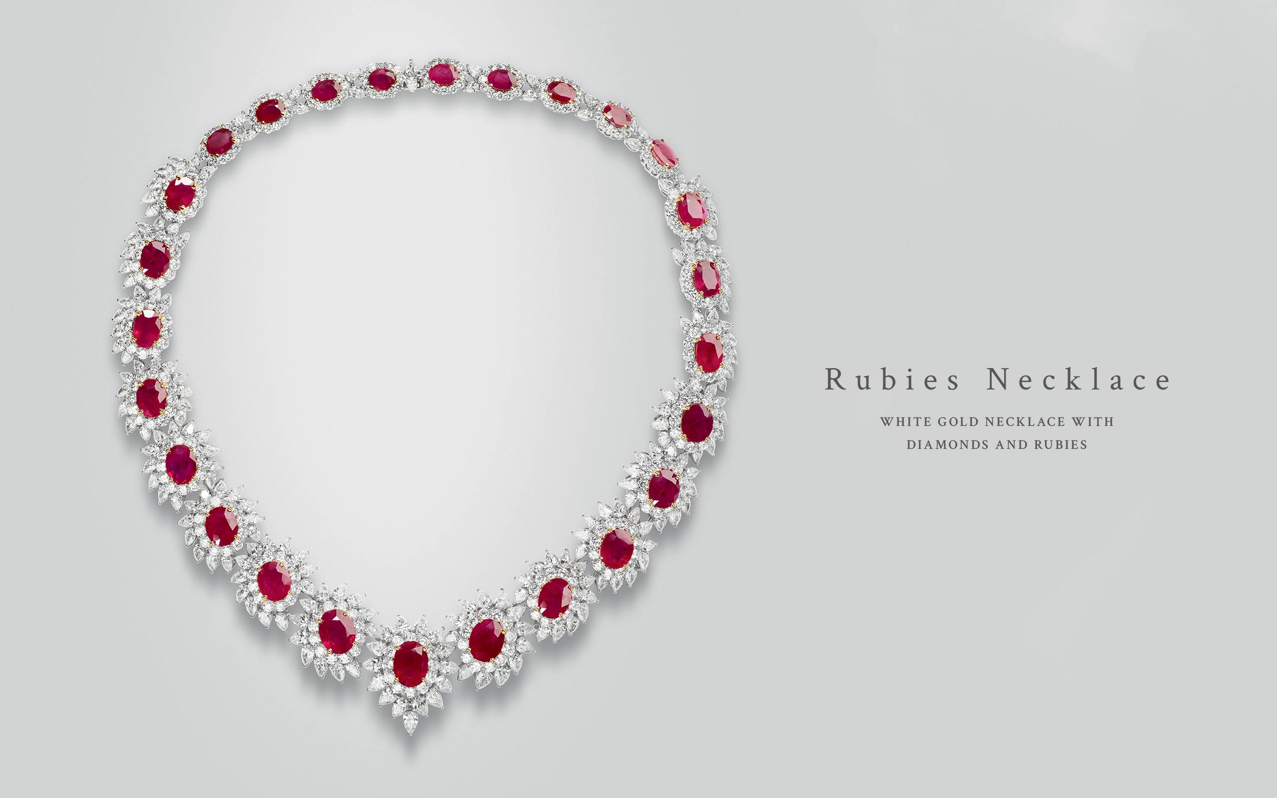 Rubies Necklace 04 | Maria Gaspari