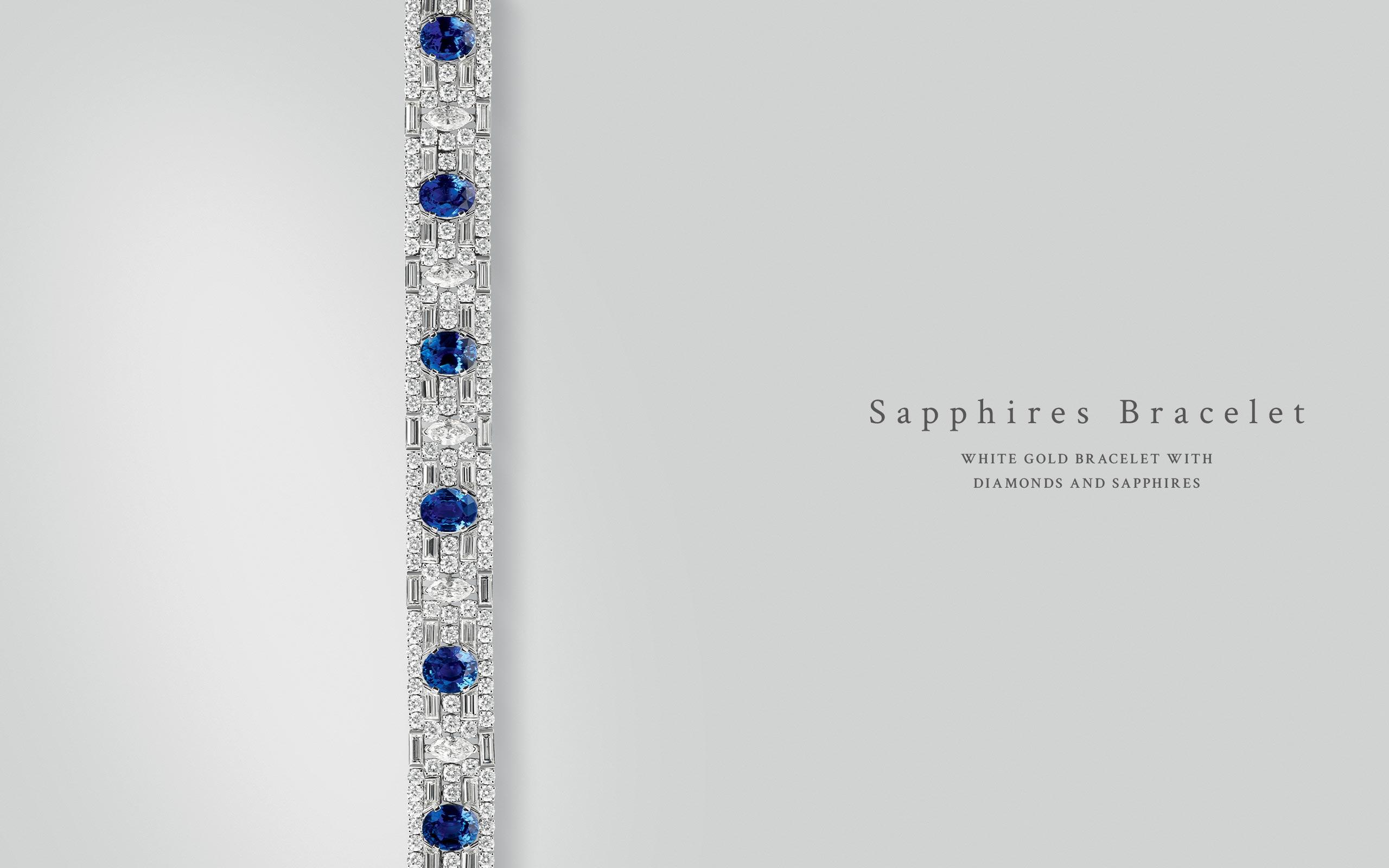 Sapphires Bracelet 03 | Maria Gaspari