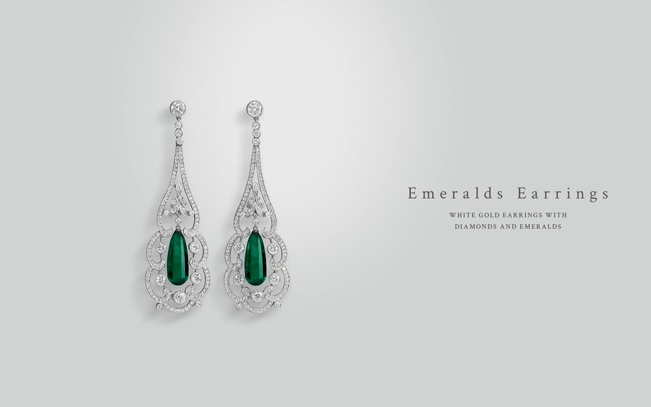 Emeralds Earrings 04 | Maria Gaspari