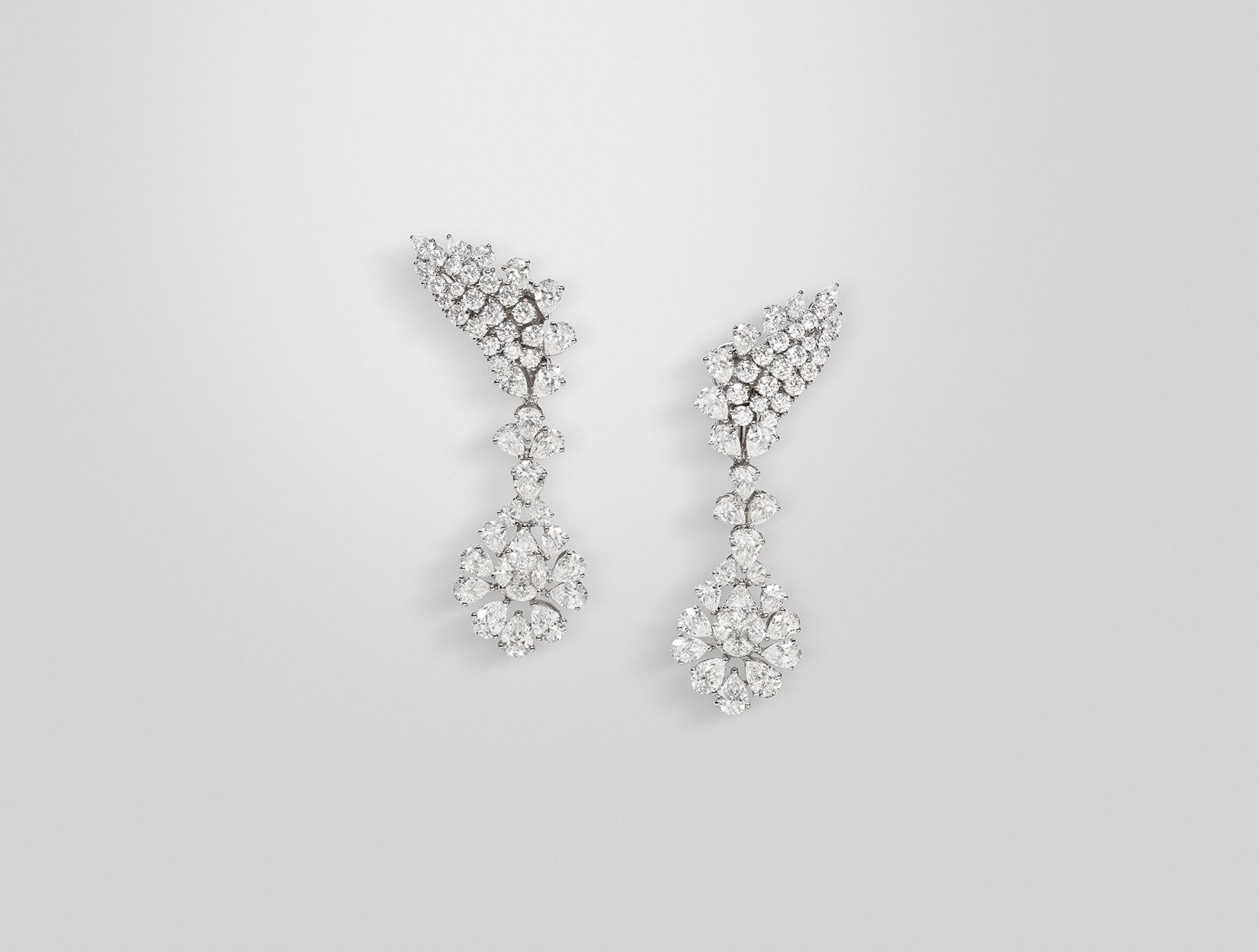Diamonds Earrings 01 | Maria Gaspari