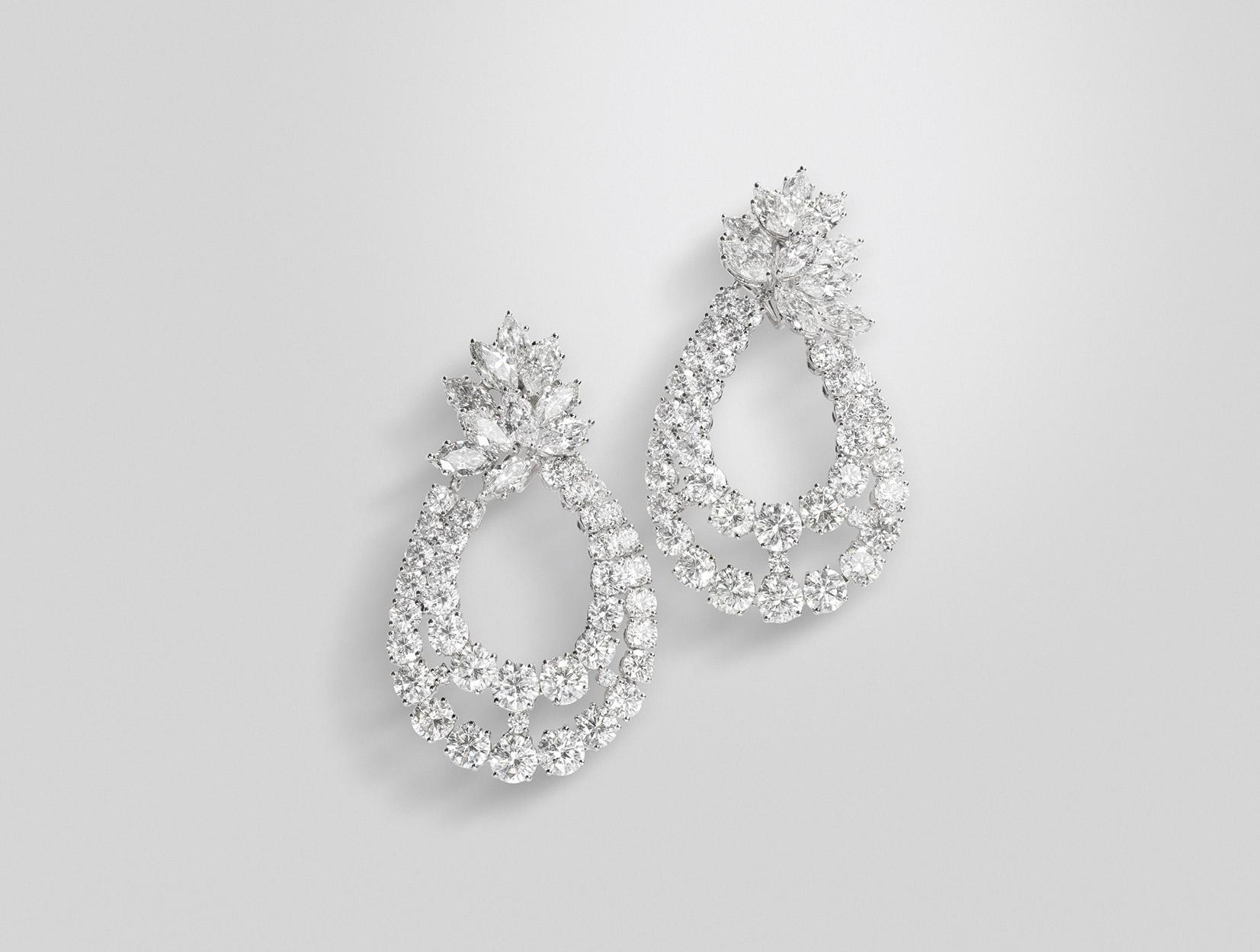 Diamonds Earrings 05 | Maria Gaspari