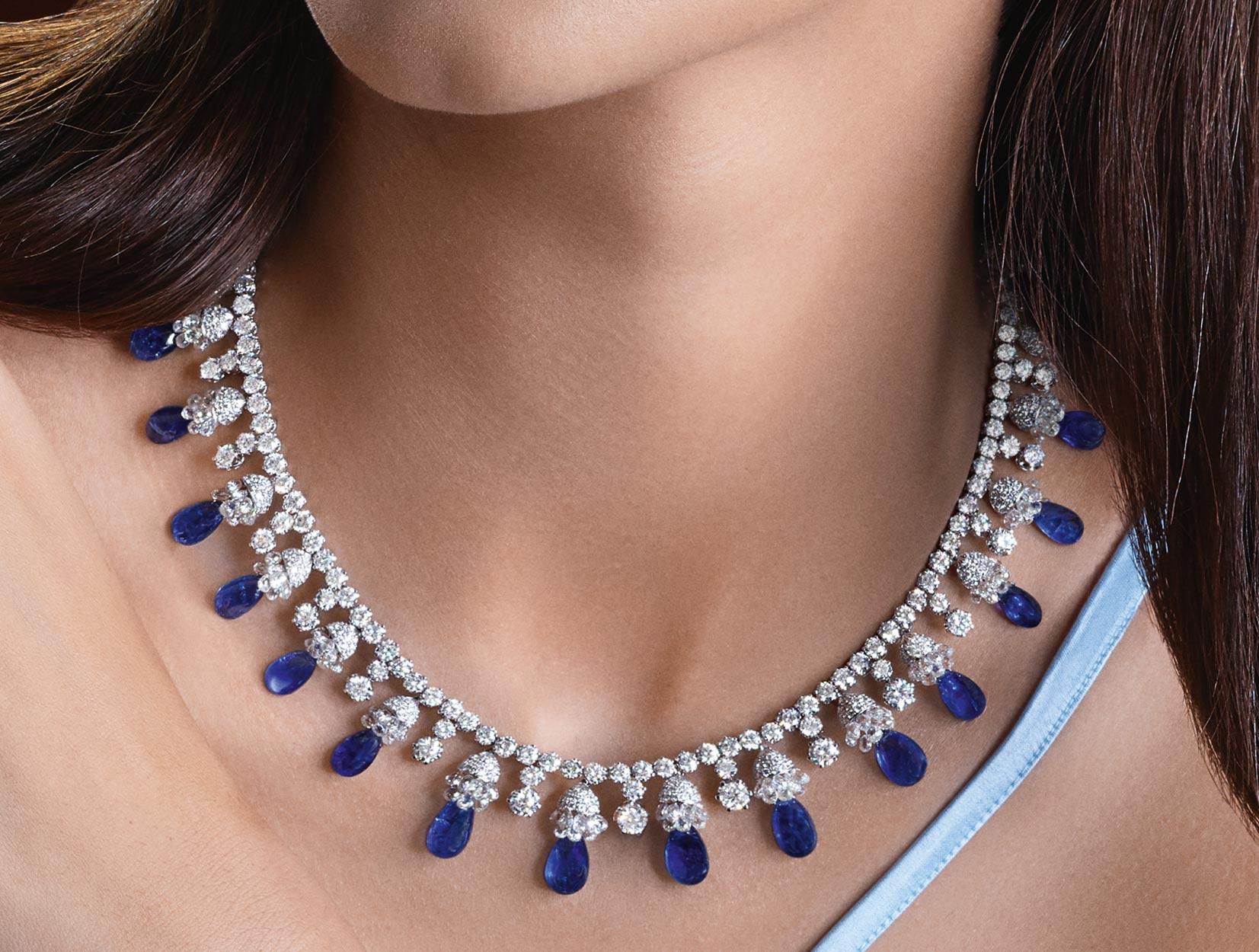 Sapphires Necklace 01 | Maria Gaspari