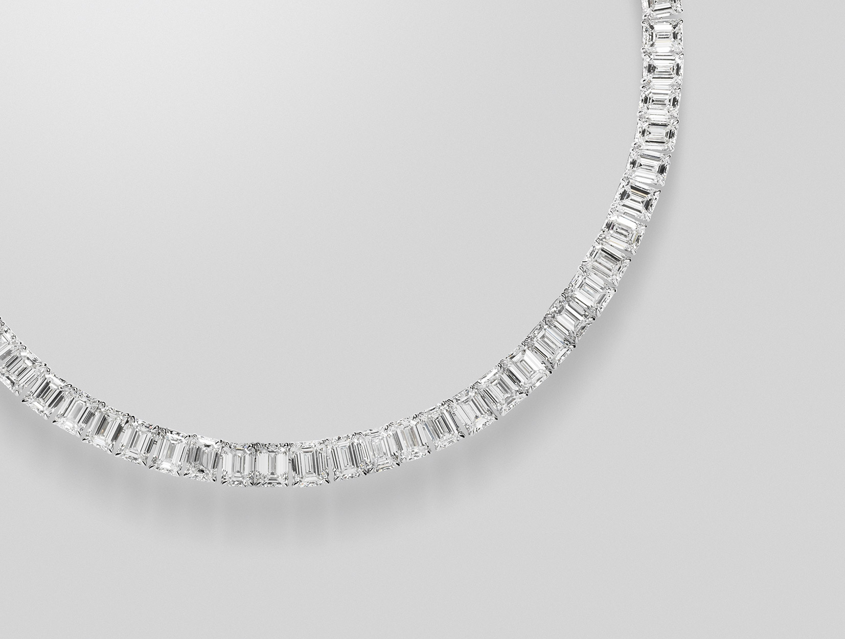 Diamonds Necklace 03 | Maria Gaspari
