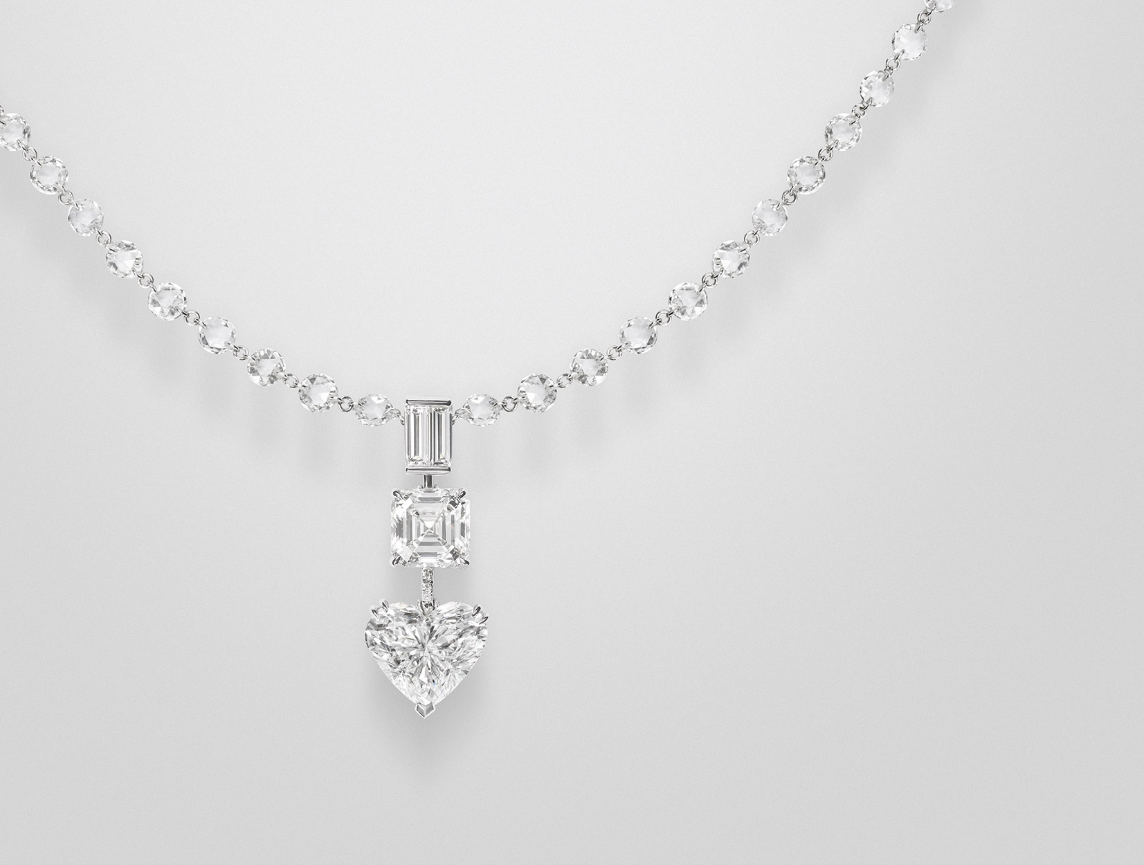 Diamonds Necklace 02 | Maria Gaspari