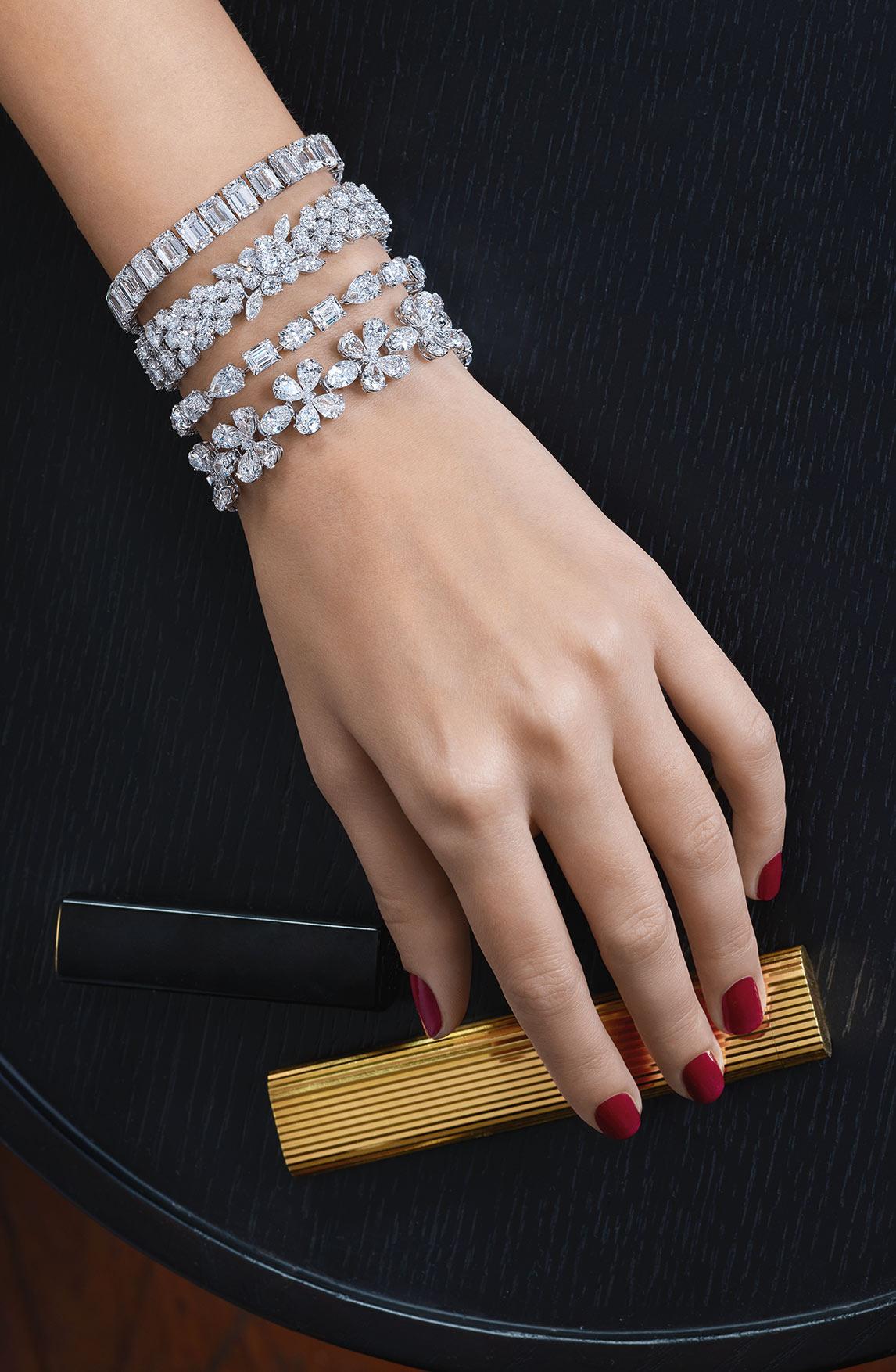 Diamonds Bracelets 01 | Maria Gaspari