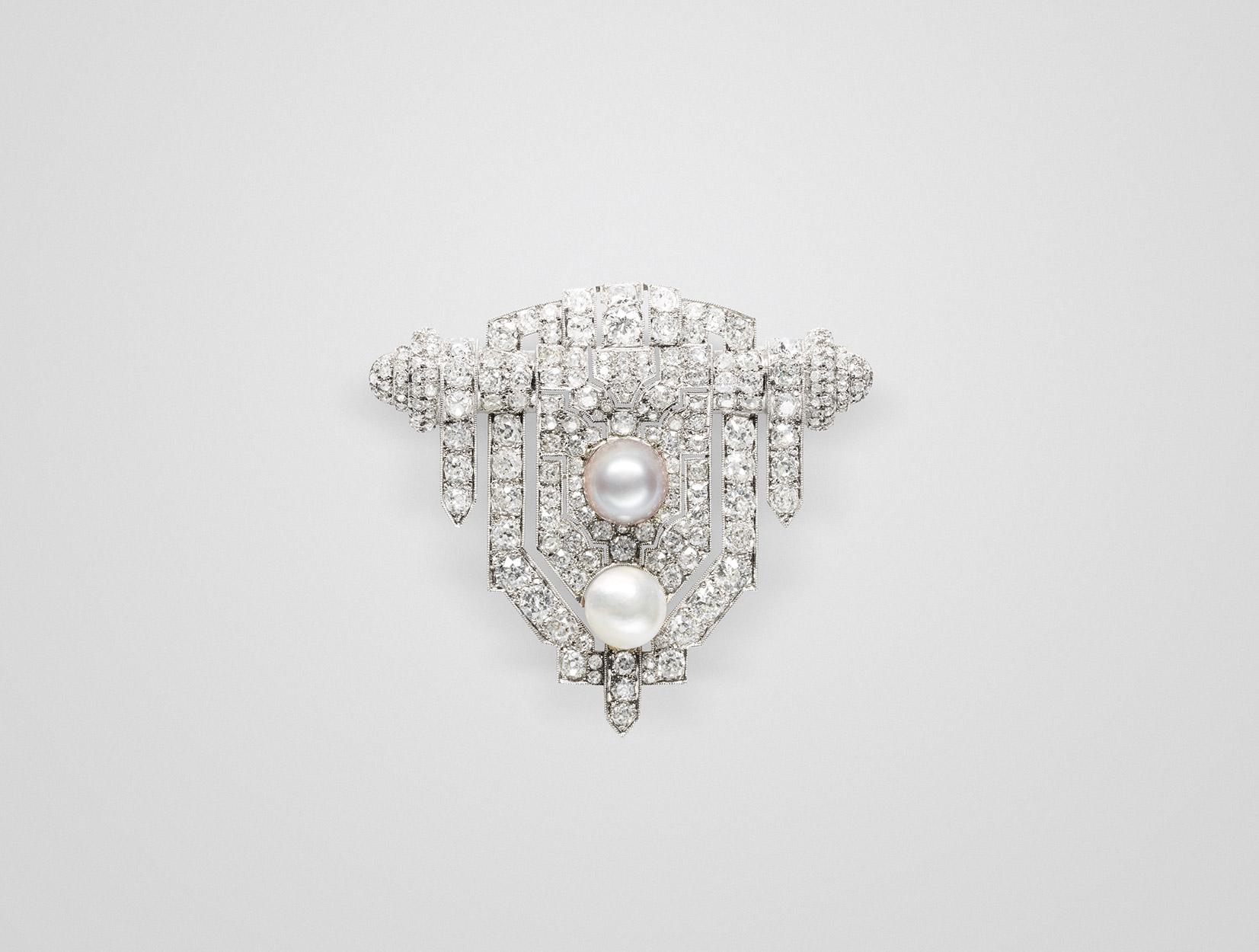 Pearls Brooch 03 | Maria Gaspari