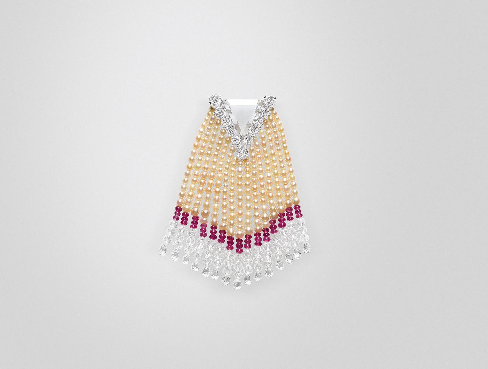 Pearls Brooch 02 | Maria Gaspari