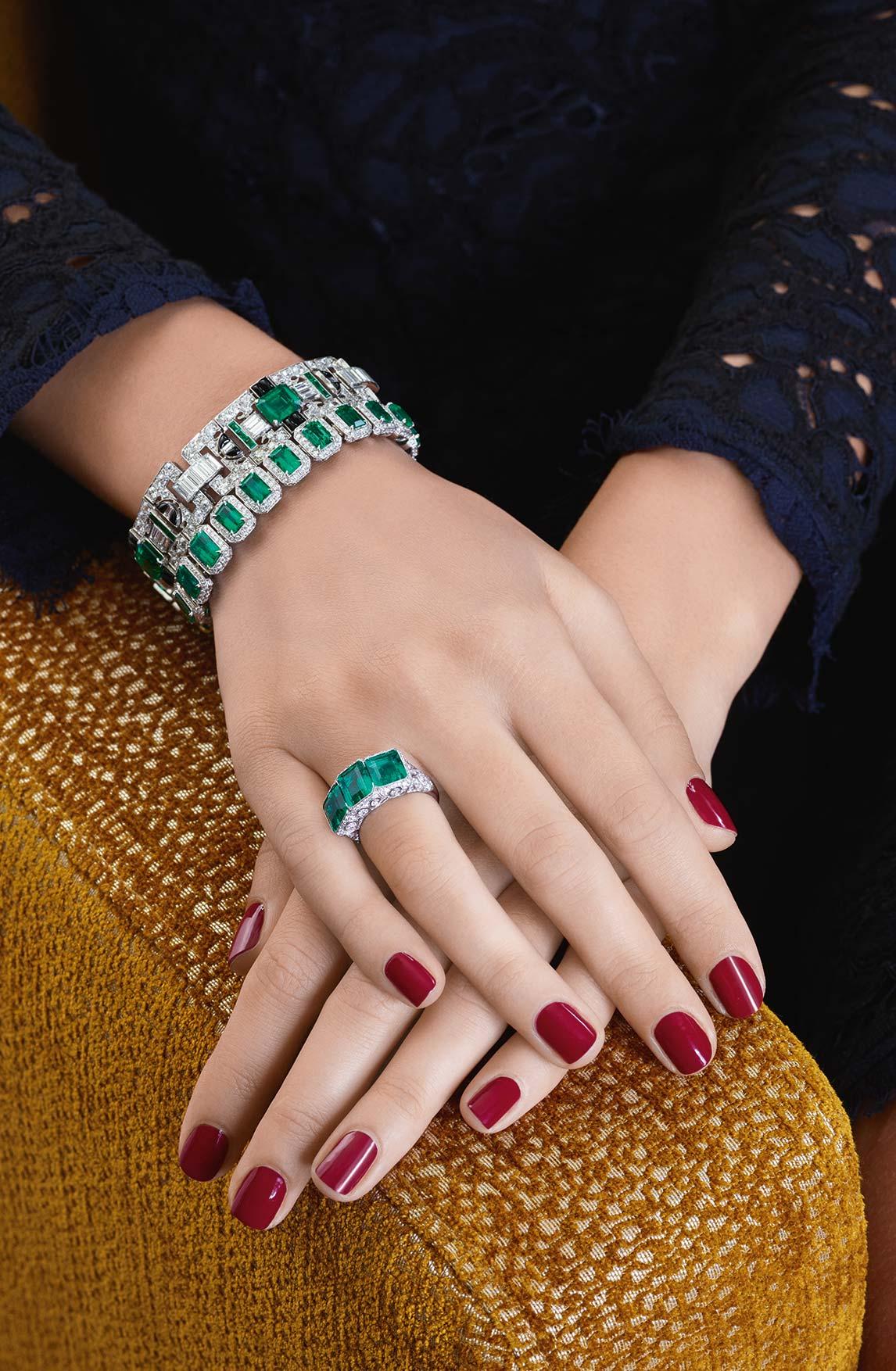 Emeralds Jewellery 03 | Maria Gaspari