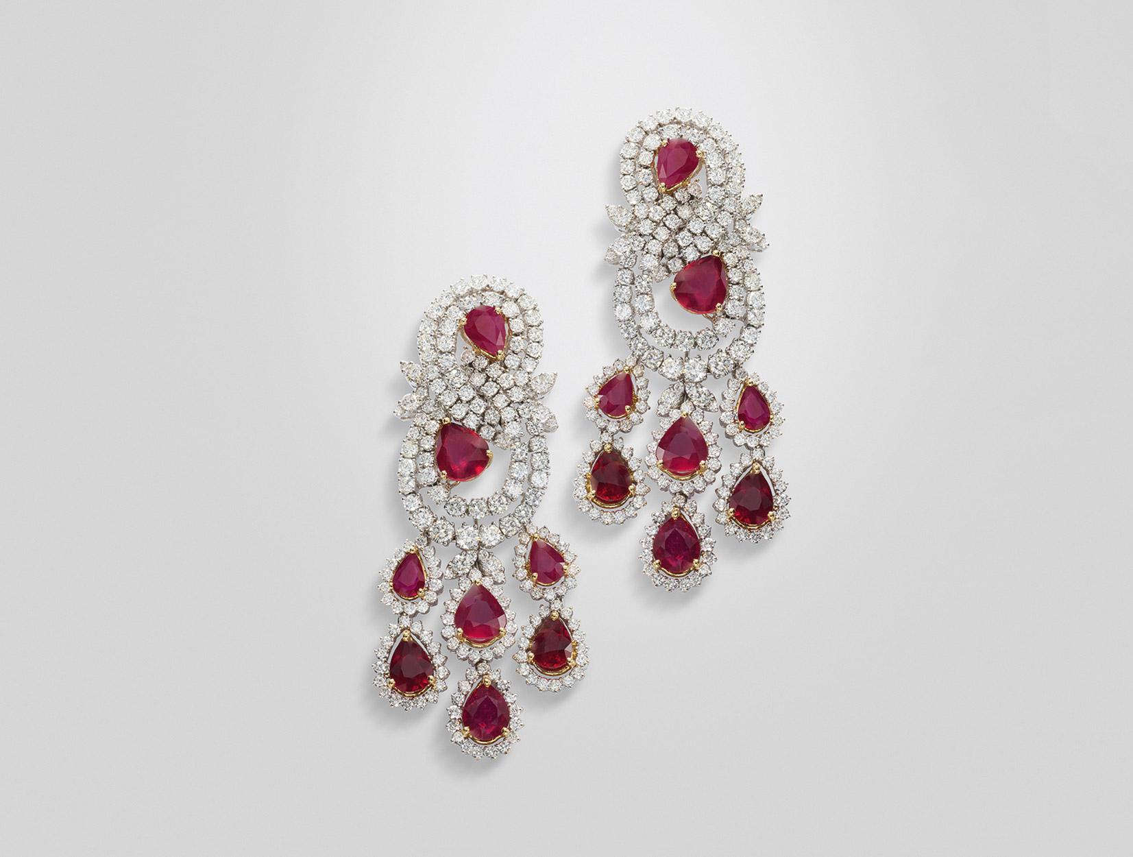 Rubies Earrings 01 | Maria Gaspari