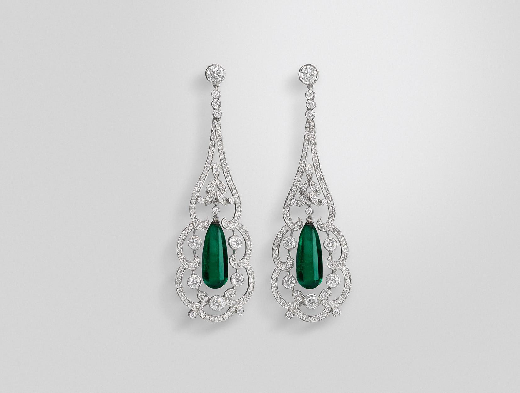 Emerald Earrings 01 | Maria Gaspari