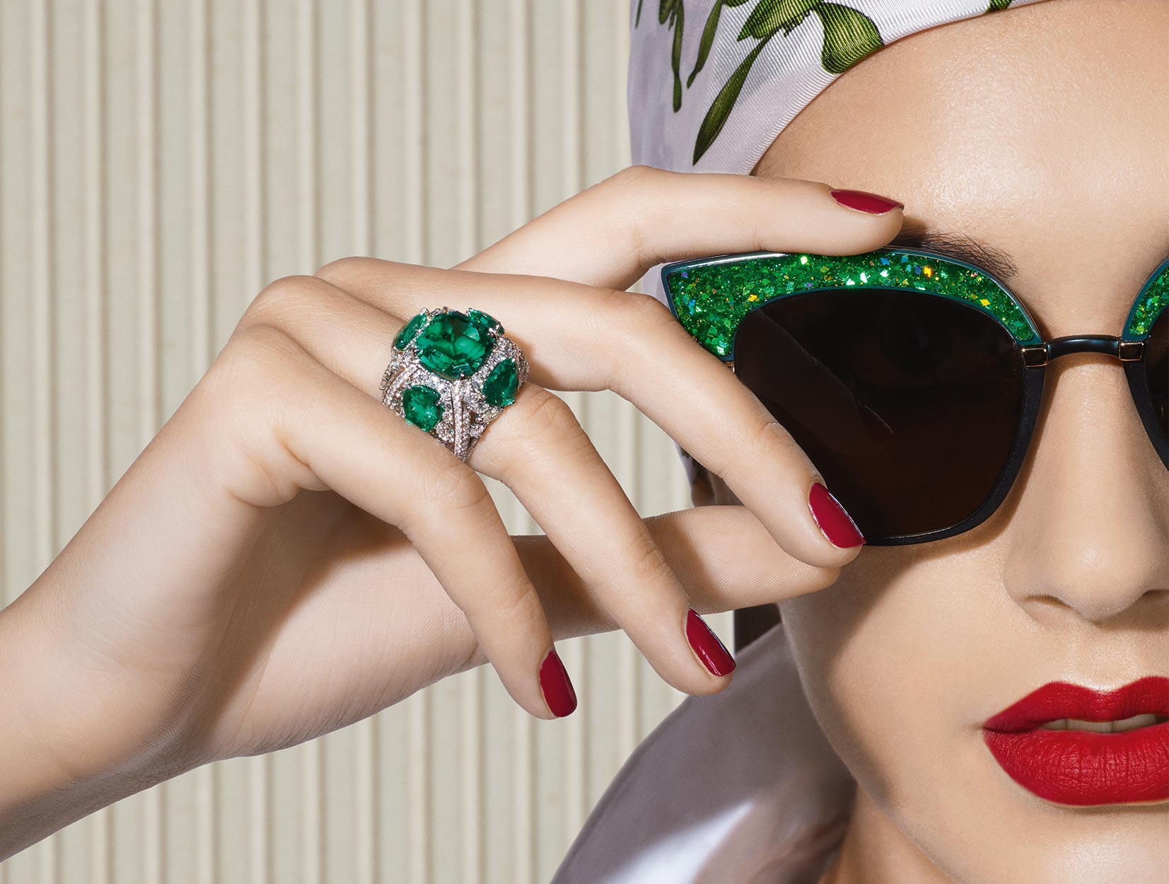 Emeralds Ring 02 | Maria Gaspari