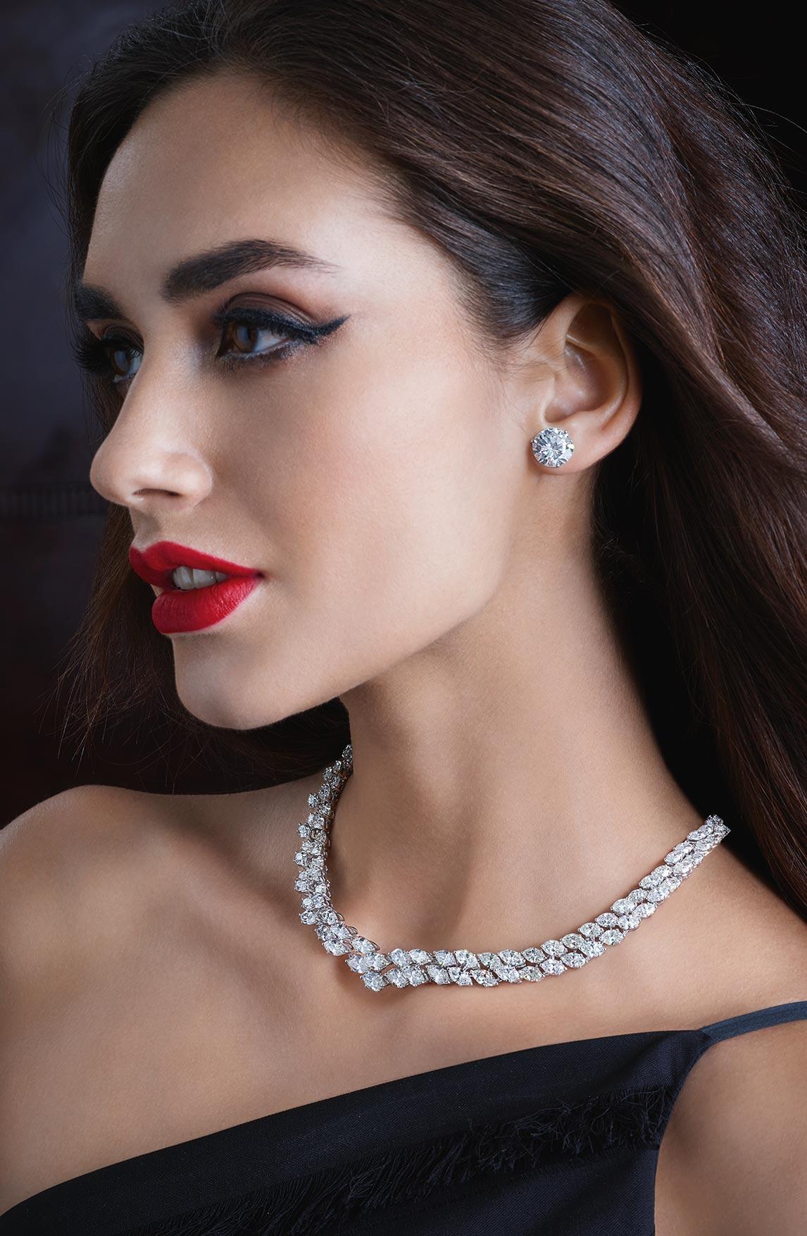 Diamonds Necklace 04 | Maria Gaspari