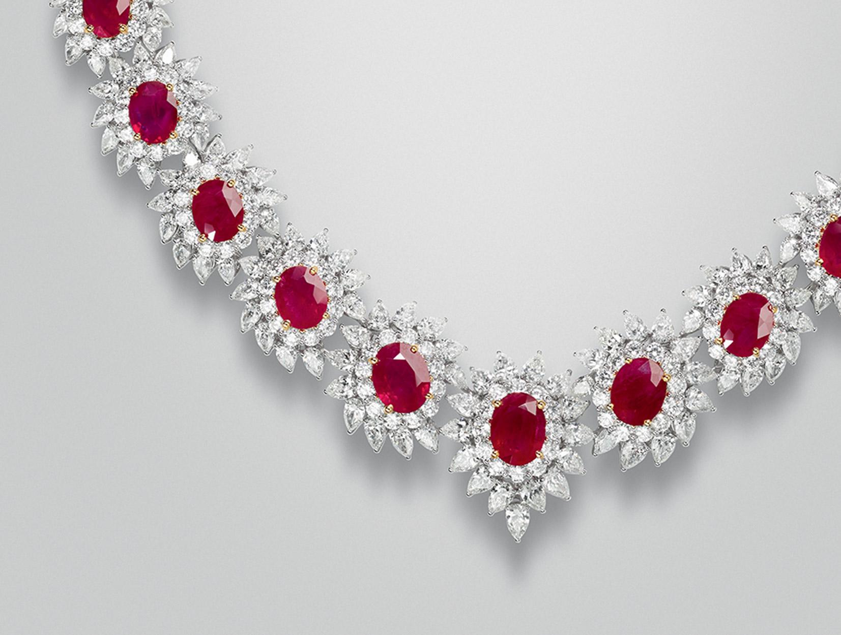 Rubies Necklace 02 | Maria Gaspari