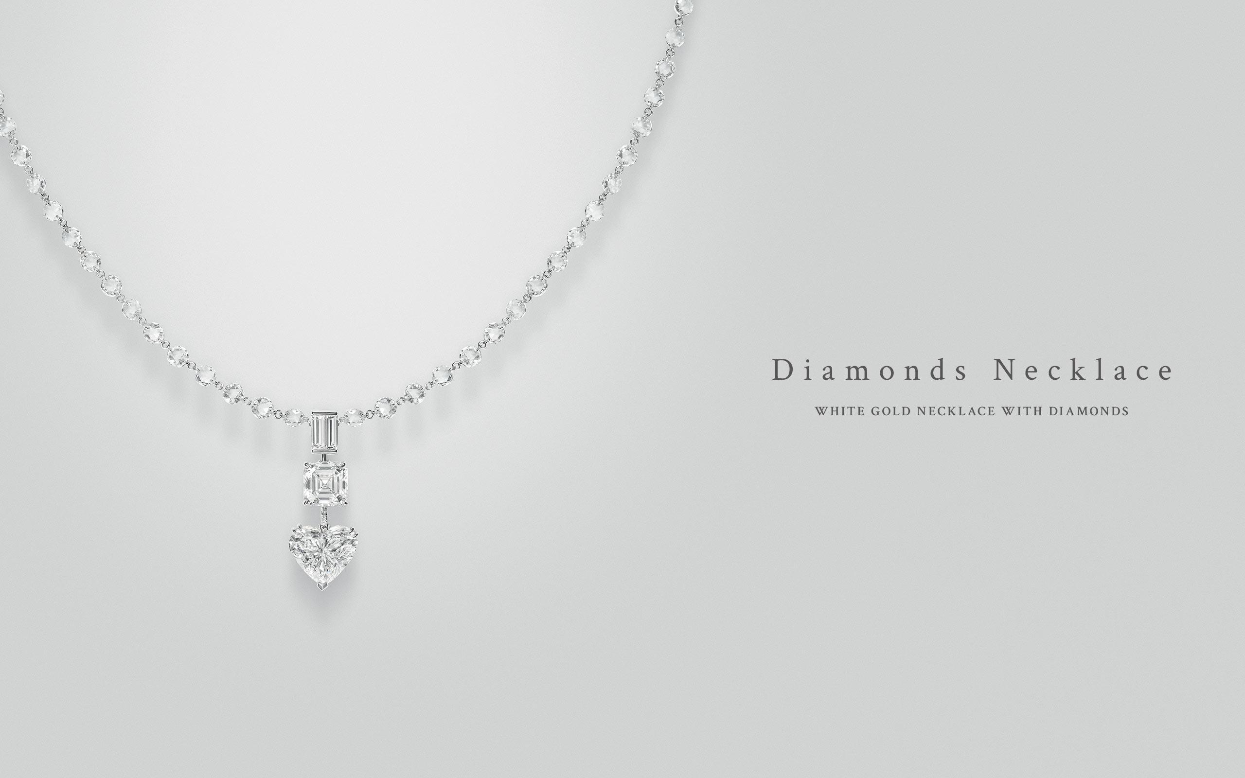 Diamonds Necklace 01 | Maria Gaspari